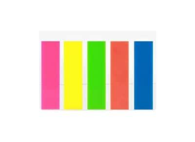 Σελιδοδείκτες Office Point Neon Index - 12x45mm - 5 Τεμάχια των 25 Φύλλων