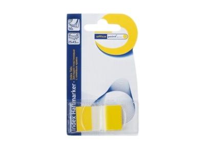 Σελιδοδείκτες Office Point Index - 25x43mm - 50 Φύλλα Κίτρινο