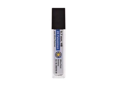 Μύτες Για Μηχανικό Μολύβι HB 0.7mm (20 Τεμάχια)