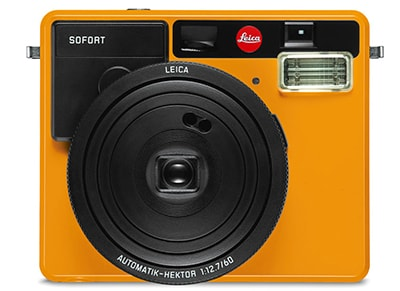 Instant Camera Leica Sofort Instant Film - Πορτοκαλί