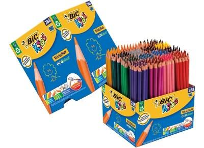 Ξυλομπογιές BIC Evolcoloring Class Pack - 288 τεμάχια