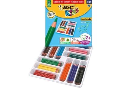 Ξυλομπογιές BIC Evol Triangle Class Pack - 144 τεμάχια