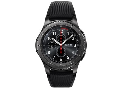 Smartwatch Samsung Gear S3 Frontier Μαύρο wearables  drones   hitech   smartwatches