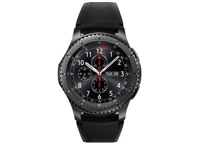 Samsung Gear S3 Frontier Μαύρο - Smartwatch wearables  drones   hitech   smartwatches