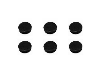Μαγνητάκια Bi-Office 20mm Μαύρο