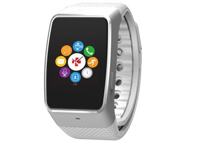 Smartwatch MyKronoz ZeWatch 4 HR Ασημί