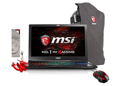 "Laptop MSI GS63 6RF-023NL - 15.6"" (i7-6700HQ/16GB/ 2256GB/GTX1060)"