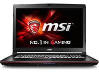 """Laptop MSI GP72 6RF-233NL - 17.3"""" (i7-6700HQ/8GB/ 1TB & 128GB/1060)"""