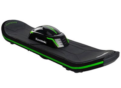 Kawasaki Surfboard Scooter 6.5 Ηλεκτρικό Πατίνι Ισορροπίας Μαύρο wearables  drones   hitech   self balancing scooters
