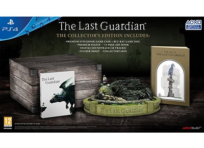 The Last Guardian Collector's Edition - PS4 Game