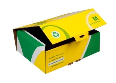 Κουτί Αποστολής - Ιωνία - Α4 - Κίτρινο