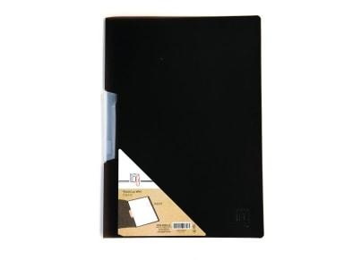 Ντοσιέ Office Log με Κλιπ Α4 Μαύρο