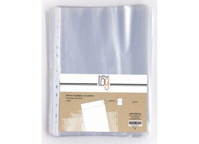 Διάφανη Θήκη - Office Log - 0.05mm Με Άνοιγμα Πάνω - 100Τεμάχια