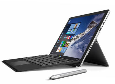 """Laptop & Cover Microsoft Surface 4 Pro - 12.3"""" (m3-6Y30/4GB/128GB/HD 515)"""