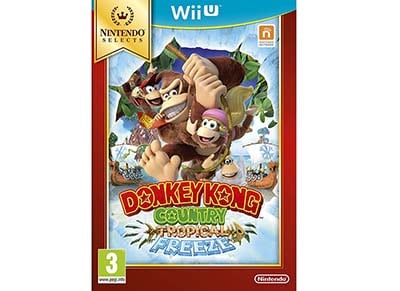 Donkey Kong Country: Tropical Freeze Selects - Wii U
