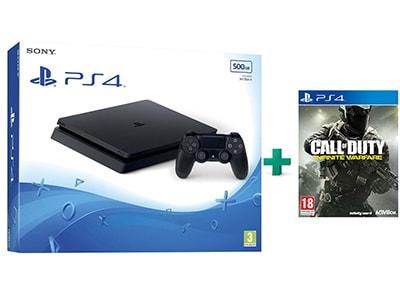 Sony PlayStation 4 - 500GB Slim D Chassis & Call of Duty: Infinite Warfare