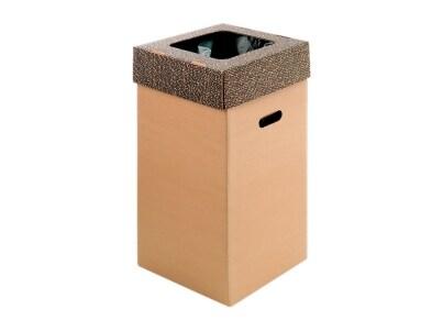 Κάδος Ανακύκλωσης Κράφτ - Ιωνία - 50 Λίτρα