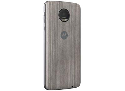 Θήκη Lenovo Oak Wood Moto Ζ - Ασημί τηλεφωνία   tablets   αξεσουάρ κινητών   θήκες