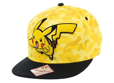 Καπέλο Bioworld Pokemon Pikachu Camo Pet
