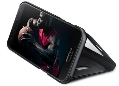 Θήκη Samsung Galaxy A5 2017 - Samsung S View Cover Μαύρο τηλεφωνία   tablets   αξεσουάρ κινητών   θήκες