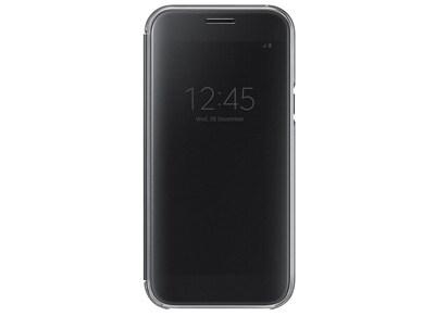 Θήκη Samsung Galaxy A5 2017 - Samsung Clear View Cover Μαύρο τηλεφωνία   tablets   αξεσουάρ κινητών   θήκες