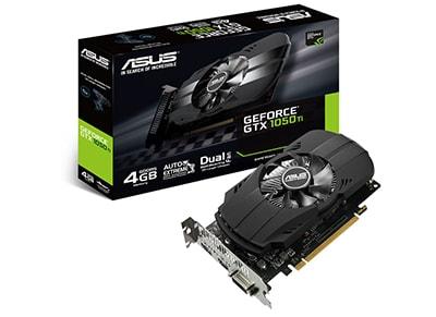 Κάρτα γραφικών NVIDIA ASUS Phoenix GeForce GTX 1050 Ti 4GB