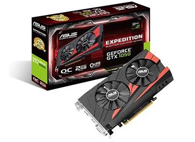 Κάρτα γραφικών NVIDIA ASUS Expedition GeForce GTX 1050 2GB