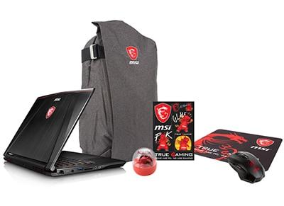 """Laptop MSI GS73VR 7RF-216NL Stealth Pro - 17.3"""" (i7-7700HQ/16GB/ 1TB & 256GB/GTX1060)"""