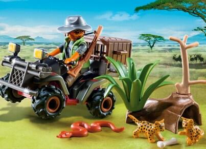 PLAYMOBIL 6939 Λαθροκυνηγός Άγριων Ζώων