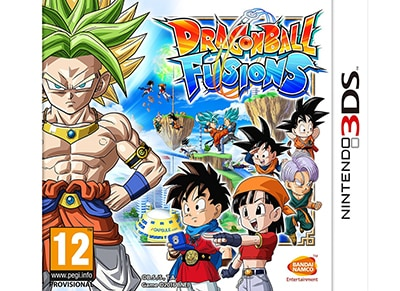 Dragon Ball Fusions - 3DS Game