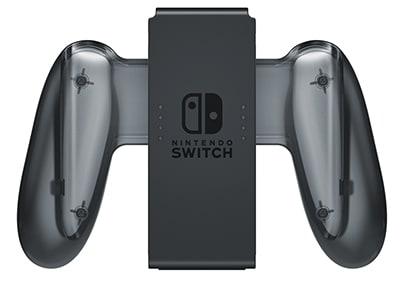 Nintendo Switch Charging Grip - Λαβή/Φορτιστής Χειριστηρίου Nintendo Switch Γκρι