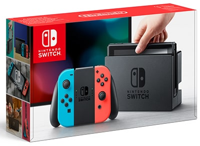 Nintendo Switch Neon Red/Neon Blue - Κονσόλα Nintendo