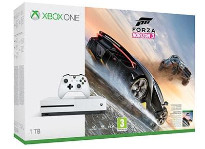 Microsoft Xbox One S White - 1TB & Forza Horizon 3