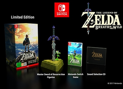 The Legend of Zelda: Breath of the Wild Limited Edition - Nintendo Switch Game