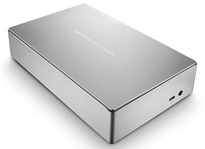 """Εξ. σκληρός δίσκος LaCie Porsche Design STFE4000200 4TB 3.5"""" USB 3.0 Γκρι"""