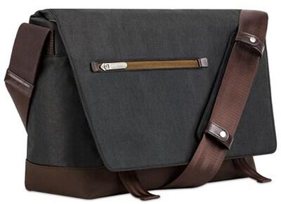 """Τσάντα Laptop 15"""" Moshi Aerio Messenger Bag - Charcoal Black υπολογιστές   αξεσουάρ   αξεσουάρ laptop   τσάντες   θήκες"""