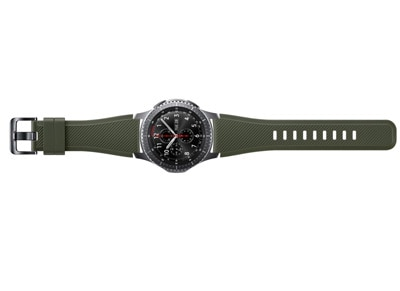 Samsung Gear S3 Active Silicon Band - Ανταλλακτικό Λουράκι Χακί