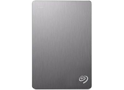 """Εξ. σκληρός δίσκος Seagate Backup Plus 4TB 2.5"""" USB 3.0 STDR4000900 Ασημί"""