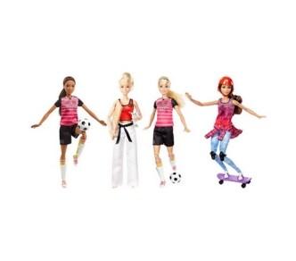 Barbie Αμέτρητες Κινήσεις Αθλήτρια - 1 Τεμάχιο - DVF68