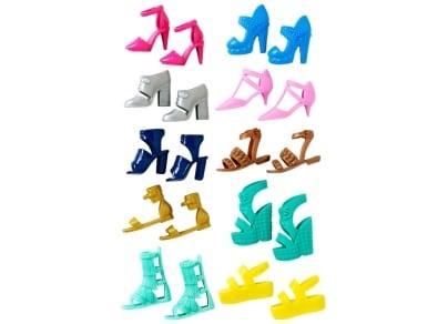 Barbie Παππούτσια - FCR91 - 2 Σχέδια - 1 Τεμάχιο