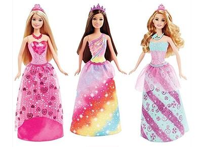 Λαμπάδα - Barbie Πριγκίπισσα - FNK03 - 3 Σχέδια - 1 Τεμάχιο