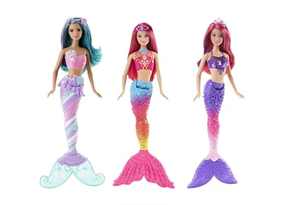 Λαμπάδα - Barbie Γοργόνα - FNΤ29 - 3 Σχέδια - 1 Τεμάχιο