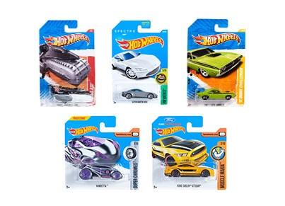 Λαμπάδα Hot Wheels Αυτοκινητάκια - Σετ Των 5 (FPC25)