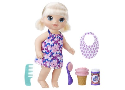 Baby Alive Κούκλα Magical Scoops Baby Blonde