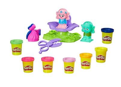 Play-Doh Trolls Press and Style Salon - Hasbro