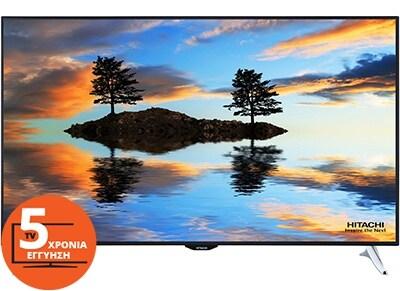 """Τηλεόραση 65"""" Hitachi 65HZ6W69 Smart LED Ultra HD"""