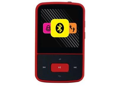 MP3 Player Crypto MP1500BT 8GB Μαύρο/Κόκκινο