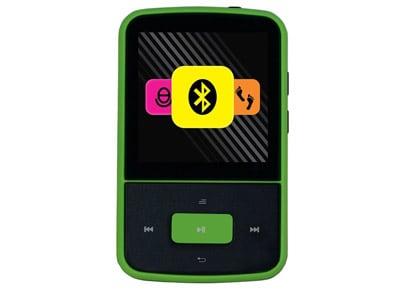 MP3 Player Crypto MP1500BT 8GB Μαύρο/Πράσινο