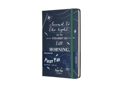 Σημειωματάριο Moleskine -Limited Edition Peter Pan - Ριγέ - Large - Μπλε