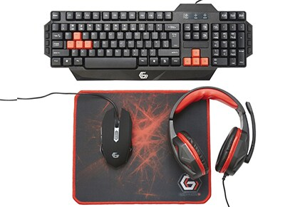 Gembird Ultimate 4-in-1 Gaming Kit - Αξεσουάρ Gaming